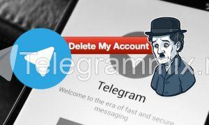 Как удалить свой профиль в Телеграмме